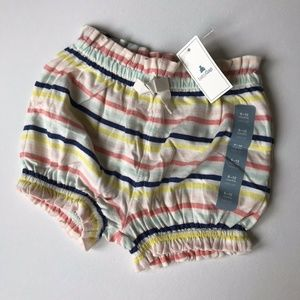 Baby Gap Striped Colourful Shorts Size 6 - 12 Months NWT